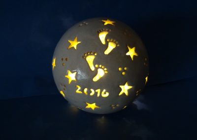 Sternenkinder-Lampe-Windlicht-Jahreszahl 12 cm