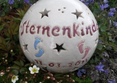 Gedenklampe an ein Sternenkind-15 cm
