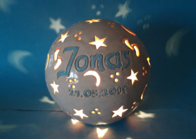 Namenslampen als Geschenk zur Geburt